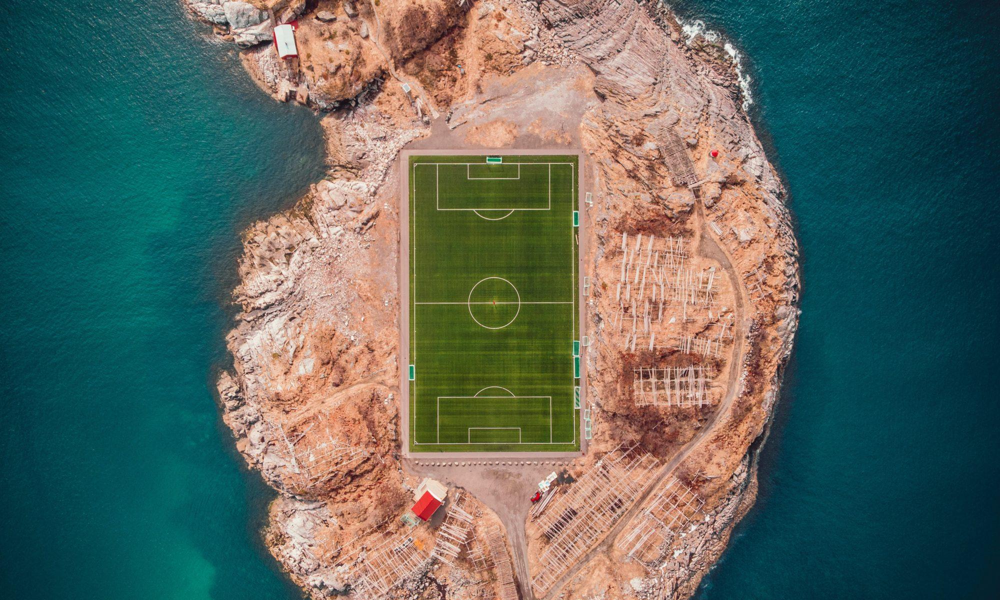 Spielfeld Traber FC