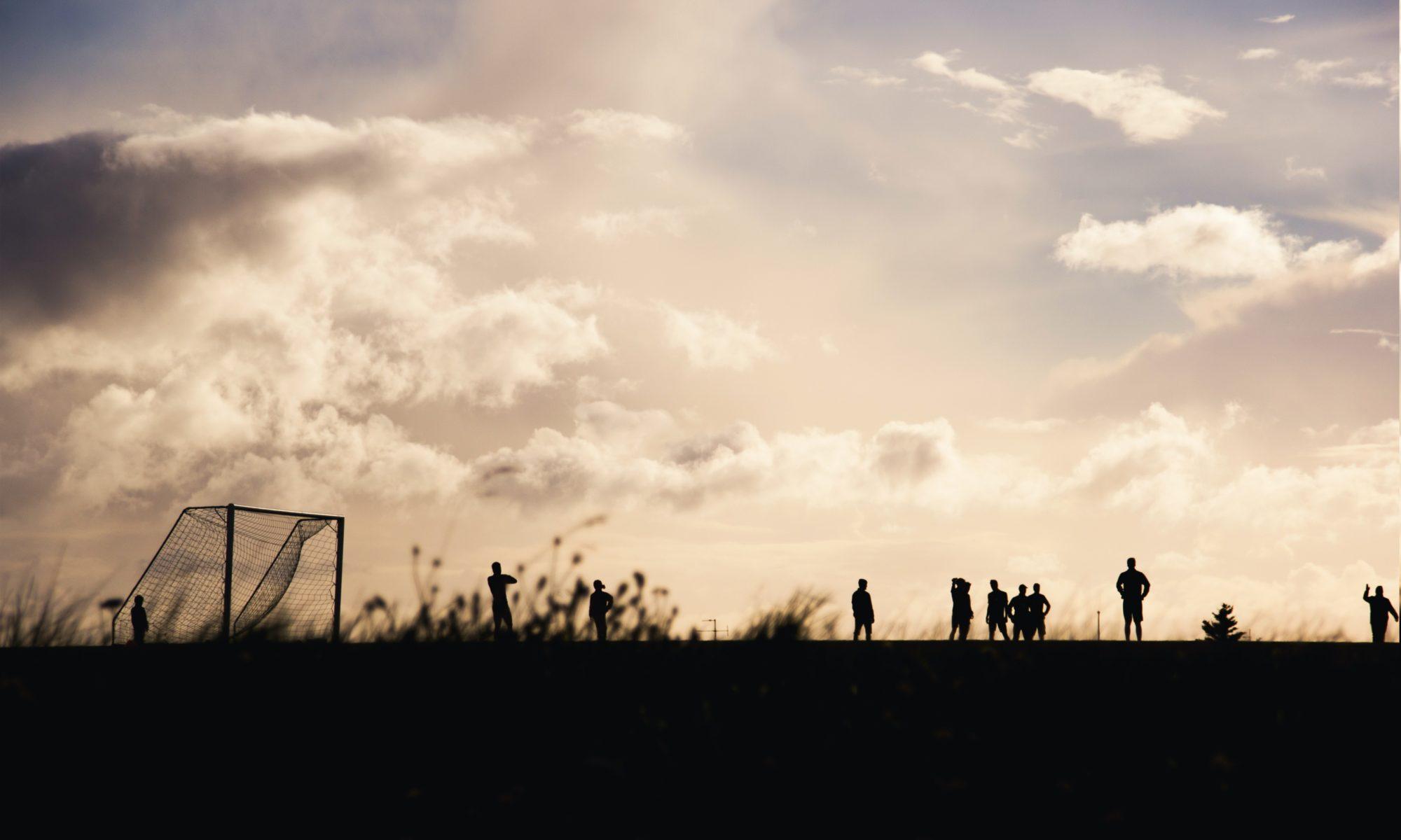 Mannschaft Traber FC Berlin beim Training